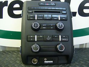 F150 F 150 XLT Pickup Black Radio Bezel Heat AC 2011 Trim Ford 11 Dash Faceplate