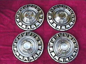 "1970 Ford Mustang 14"" Hubcaps Wheel Covers"