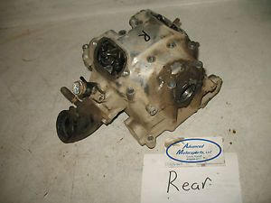 02 03 Kawasaki Prairie 650 4x4 KVF650 Rear Engine Motor Cylinder Valve Head Good