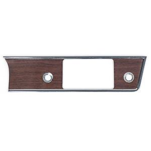 1966 Comet Caliente Radio Bezel Woodgrain Dash Trim Molding Genuine Ford