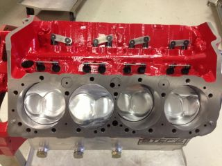 Small Block Chevy Short Block 330 Cubic inch Chevy Enigines Race Engines