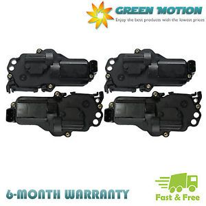 4 Door Lock Actuator 2 Left 2 Right Side for Ford Excursion Lincoln Mercury