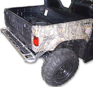 Yamaha Rhino UTV 450 660 700 Aluminum Rear Step Bumper Brush Guard