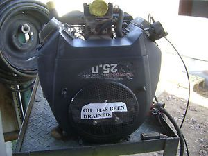 Kawasaki 25HP Vertical Shaft Engine FH721V from Hustler Z Fits John Deere X500