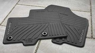 2013 Toyota Sienna Van All Weather Floor Mats Toyota Black PT908 08130 20