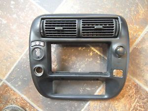 1995 2005 Ford Ranger Mazda Radio Bezel Dash Trim 4x4 Dual Power Ports