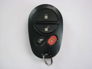 "Toyota Sienna Keyless Entry Remote FCC GQ43VT20T 4 Button ""Nice"""