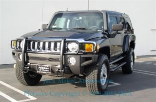 Black Grille Brush Guard 06 11 Hummer H3 by Aries