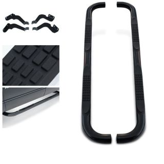 06 07 08 09 10 Hummer H3 Side Step Nerf Bar SUT Black Running Boards Exterior