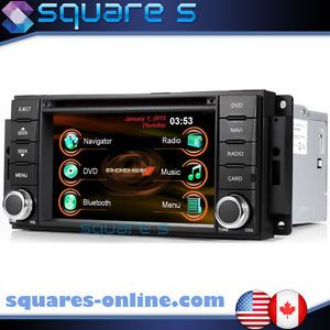 Dodge Charger in Dash GPS Navigation Radio Bluetooth iPod CD DVD Player Deck USB