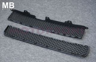 Front Center Grille Scion XB 08 10 Black Mesh 4DR 09 JDM ABS Upper Lower MB