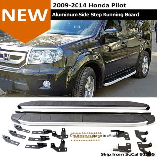 09 13 Honda Pilot Side Step Rail Nerf Bar Running Board Direct Fit Replacement