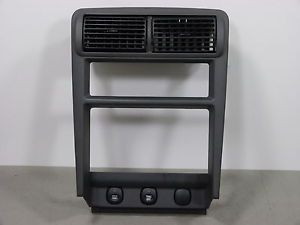 01 02 03 04 Ford Mustang Radio Surround Climate Dash Bezel Trim Vents Charcoal