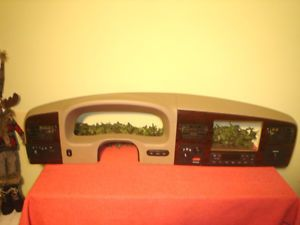 2005 2007 Ford F250 F350 Super Duty Dash Radio Bezel King Ranch Woodgrain
