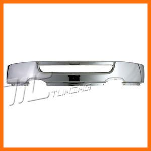 2004 2008 Ford F150 Pickup Truck Front Bumper Face Bar Chrome Steel w O Bracket
