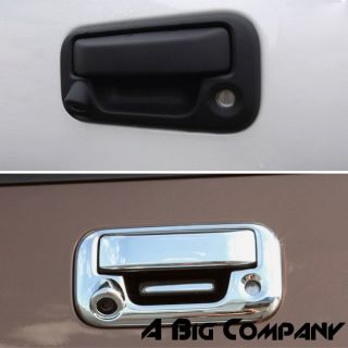 04 10 Ford F150 Truck Chrome Tailgate Rear Door Handle Cover Trim w Camera Hole