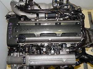 JDM 2jz GTE Twin Turbo Engine Toyota Aristo Motor Lexus Supra Wiring ECU