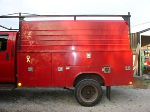 Reading 11' Enclosed Tool Service Utility Truck Bed