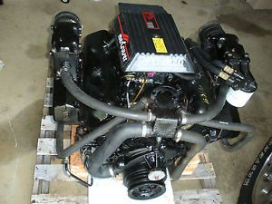 Mercury Mercruiser 7 4 GM Engine Assy Complete Running Take Out