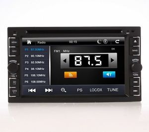 "G2104U 6 2"" Double DIN 2Din Car DVD Player GPS Navigation Bluetooth Touch Stereo"