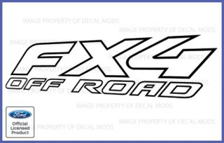 2003 Ford F150 FX4 Off Road Vinyl Decal Truck Sticker