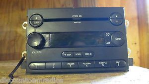 05 06 Ford Freestyle F150 Radio 6 Disc  6L3T 18C815 FE Parts CP