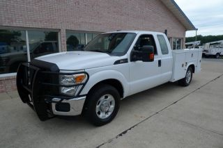 2011 Ford F250 Service Truck Utility Bed 6 2 V8