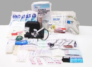 Fully stocked Large Pro II Trauma Bag First Aid Kit