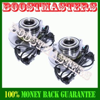 2002 2005 Dodge RAM1500 Pickup 5LUG Front Wheel Hub Bearing 1 Pair