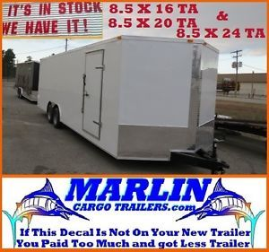 Enclosed Cargo Trailer Car Hauler