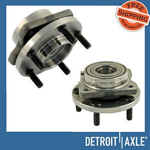 "2 Front Hub Bearing Assembly Chrysler Dodge Plymouth 15"" 16"" 17"" Wheel 5 Lug New"