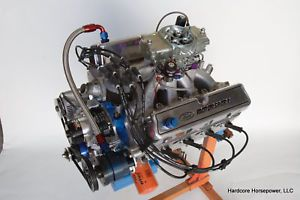 Small Block Ford 427CI Pro Built Drag Race Engines 740HP 590TQ 12 4 1 Complete