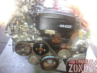 JDM 86 89 Toyota MR2 II Supercharged Engine Motor 5 Speed Trans ECU 4AGZE 4A