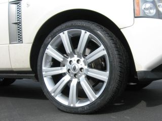 "Range Rover HSE 22"" Marcellino Rims and Tires Toyo Silver New"