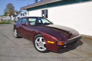 1987 Porsche 944  Great Car Custom Paint Cup Wheels Light Mods Pics