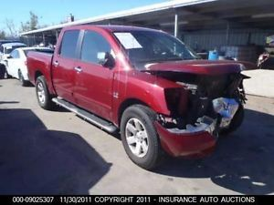2004 04 Nissan Titan Le Crew Cab Utility Truck Bed Pick Up Bed Box TX