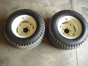 Cub Cadet 682 782 1282 etc 23x10 50x12 Tires and Wide Rear Wheels Are 8 50x12