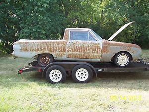 1962 Ford Falcon Ranchero Parts Car 1963 Falcon Parts 6 Cyl 3 Speed