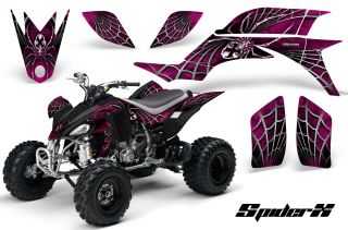 Yamaha YFZ 450 03 08 ATV Graphics Kit Decals Stickers Spiderx PB
