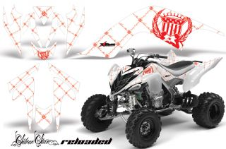 AMR Racing ATV Graphic Wrap Off Road Decal Sticker Kit Yamaha Raptor 700 RRW