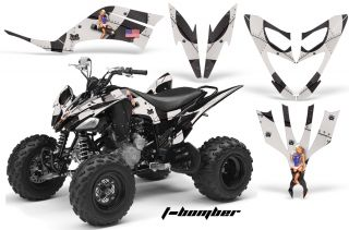 AMR Quad Graphics Kit Stickers Decals Yamaha Raptor 250