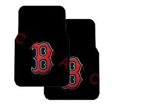 Rubber Car Truck Floor Mat Mats MLB Boston Red Sox