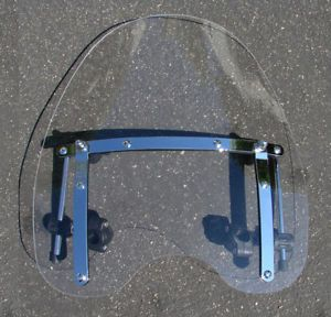 Windshield for Honda Shadow Spirit Sabre Magna VT Ace VTX Valkyrie 750 1300 1800
