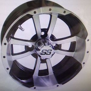 ITP 10 x 7 SS112 Aluminum Alloy Golf Cart Car Rim Wheel
