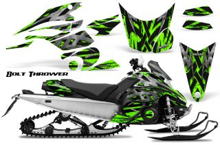 Yamaha FX Nytro 08 12 Snowmobile Sled Graphics Kit Creatorx BTG