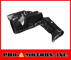 03 08 Toyota Corolla Matrix Engine Under Cover Lower Splash Guard Left
