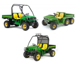 Technical Manual for John Deere Diesel Gas Gator 4x6 4x2 on CD