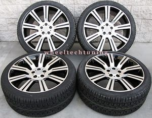"22"" Range Rover Stormer Wheel and Tire Package Toyo Tires Rims New"