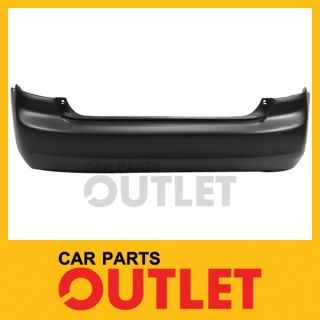 2003 2004 2005 Honda Accord Sedan Rear Bumper Cover V6