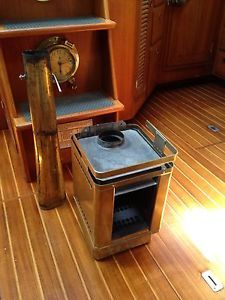 Hi Seas Marine Heater Stove Boat Solid Fuel Brass